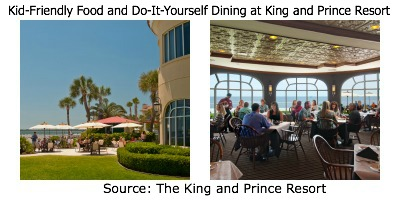 The King and Prince Resort, King and Prince Dining, St. Simons Island Restaurants, St. Simons restaurant