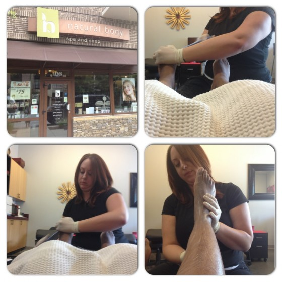 Blueberry Manicure Pedicure at Natural Body Spa Brookhaven