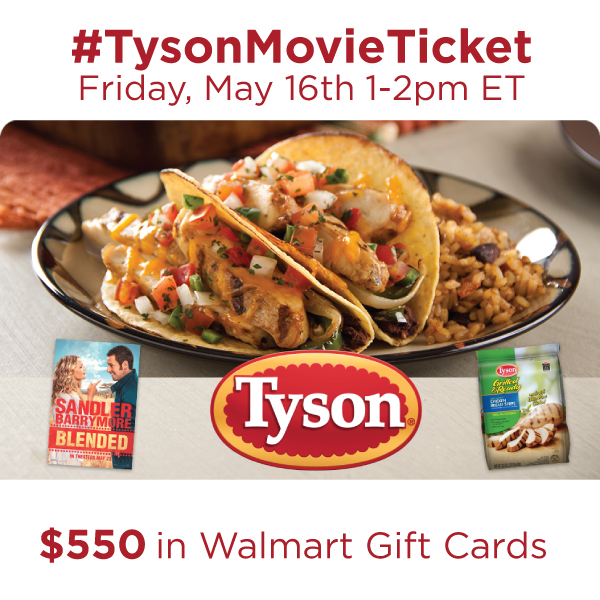Join Me at the #TysonMovieTicket Twitter Party ~ MommyTalkShow.com