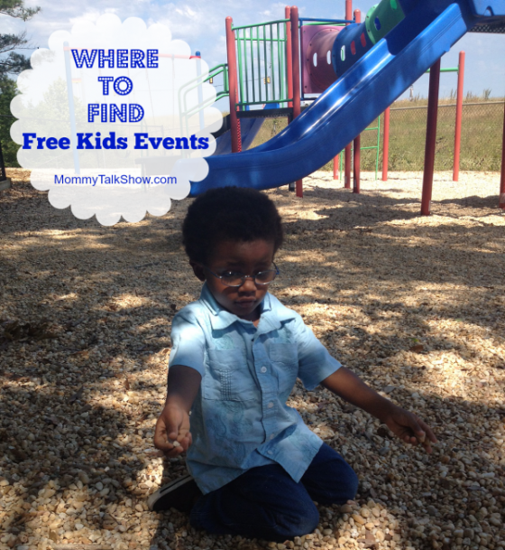 Find Free Kids Events ~ MommyTalkShow.com
