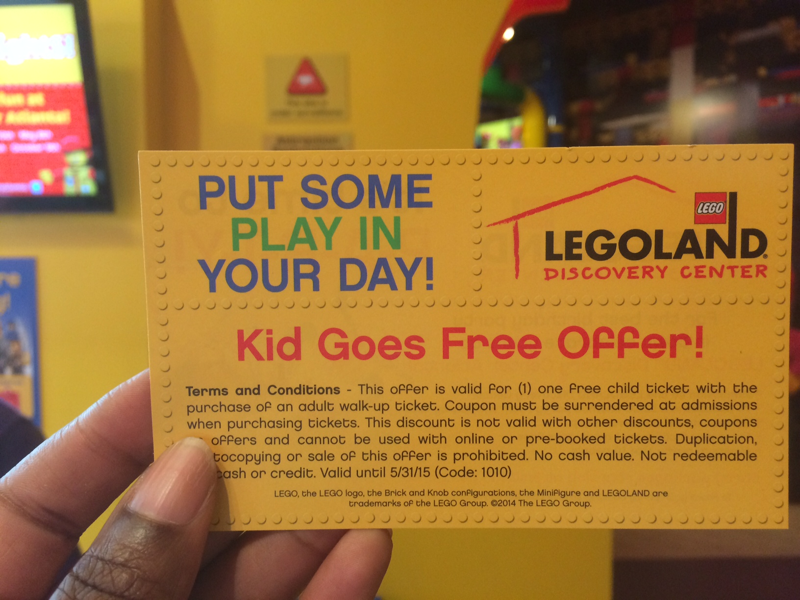 July 2014 Legoland Discovery Center Atlanta Events
