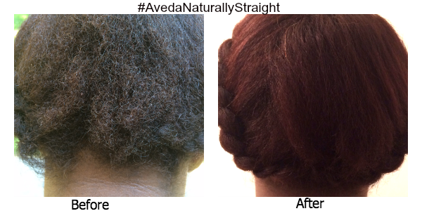 Before and After Aveda