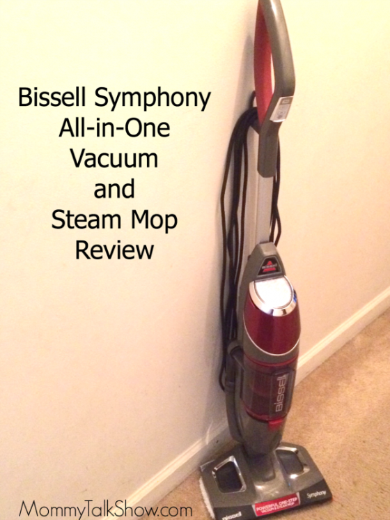 Bissell Symphony All-in-one Vacuum and Steam Mop Review ~ MommyTalkShow.com