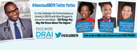 New Dr. Drai Twitter Party