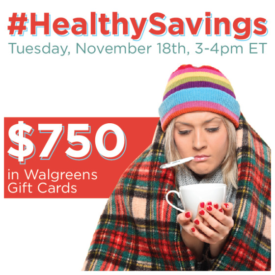 #HealthySavings-Twitter-Party-11-18-3pmEST