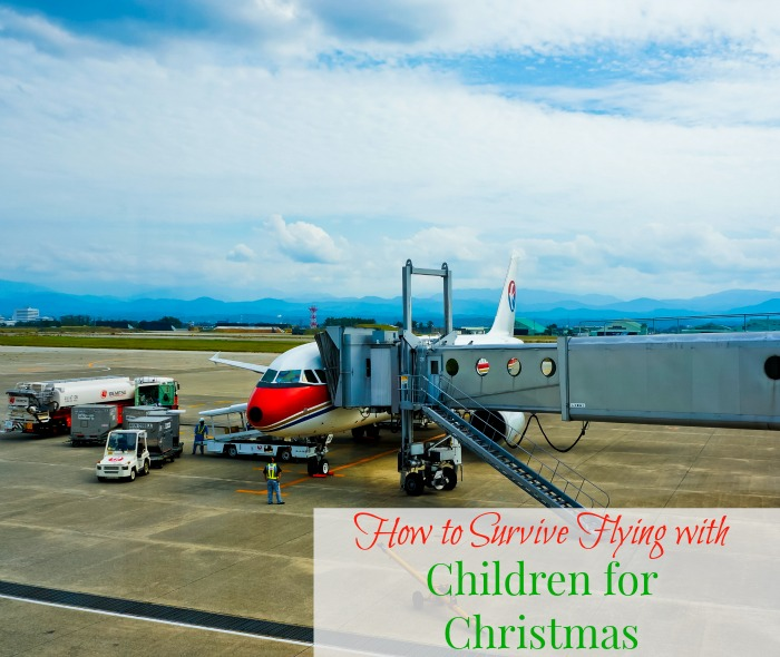 Flying with Children for Christmas