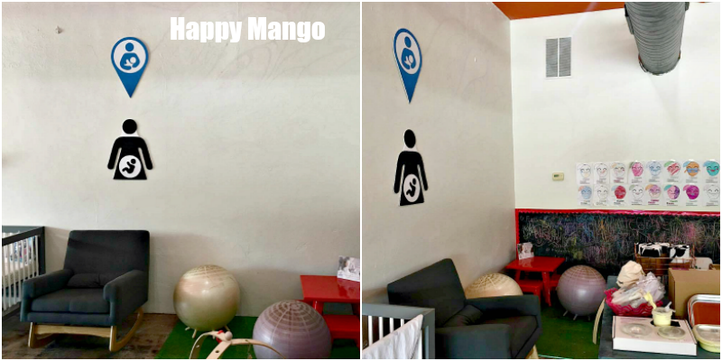 Happy Mango Nursing Area