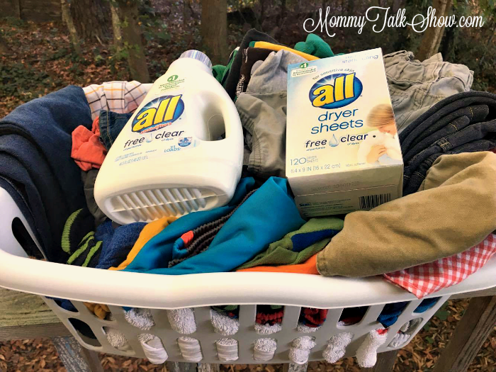 all free laundry basket