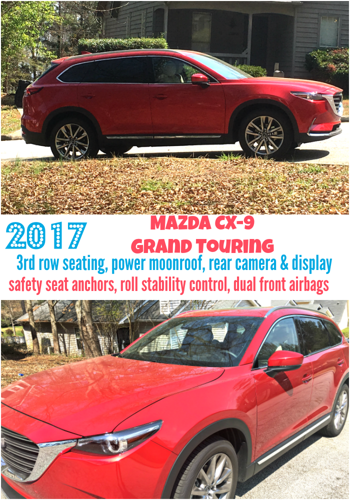 2017 Mazda CX-9 Safety Features