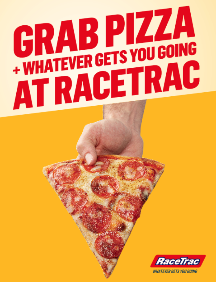 Join the #RaceTracPizza Twitter Party: Win Prizes Monday, April 9th 8-9p ET #AD