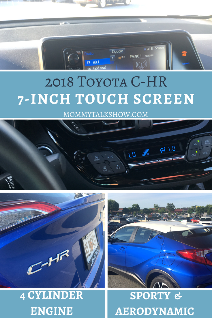 2018 Toyota C-HR Safety and Tech Features