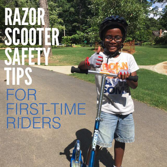 Razor Scooter Safety Tips First-Time Riders