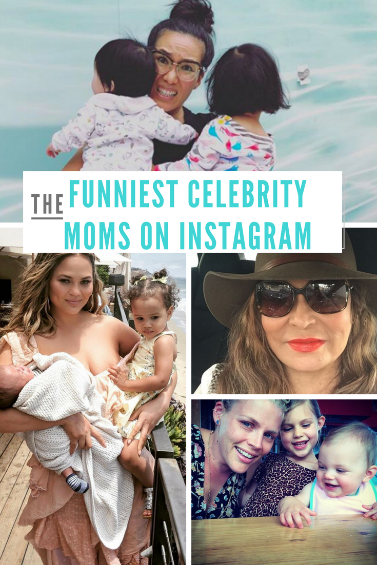 5 Funny Celebrity Moms You Must Follow on Instagram