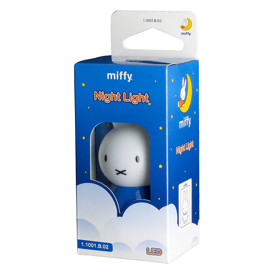 Miffy LED Night Light Blue