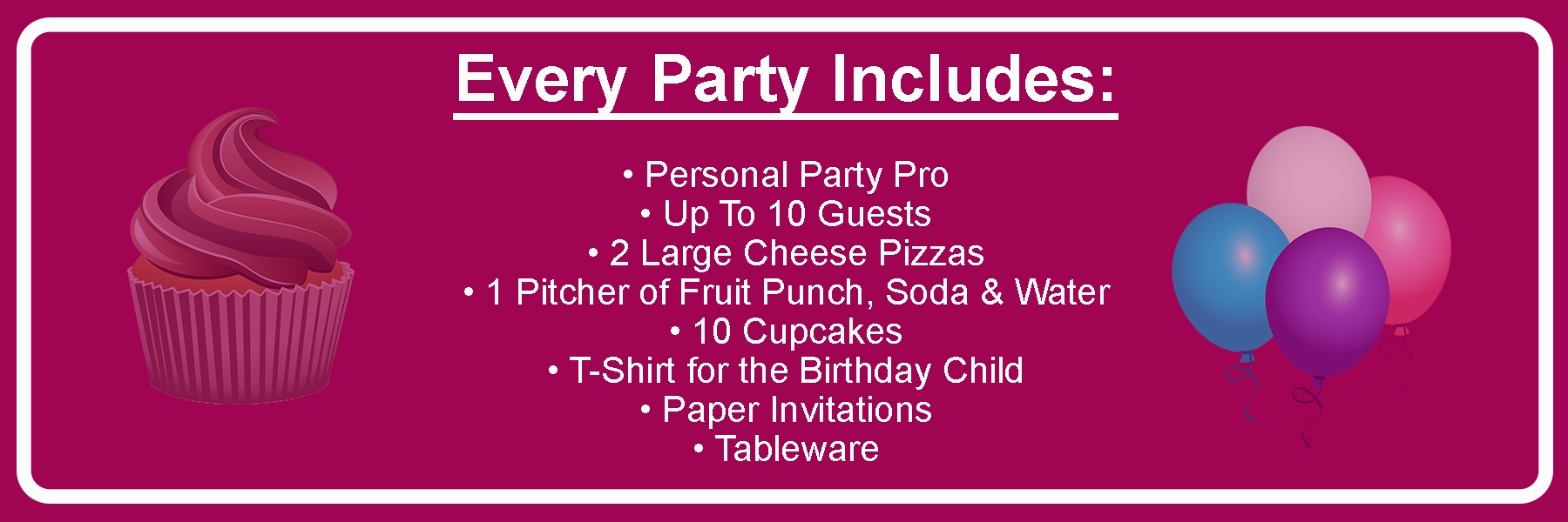 Party Includes1