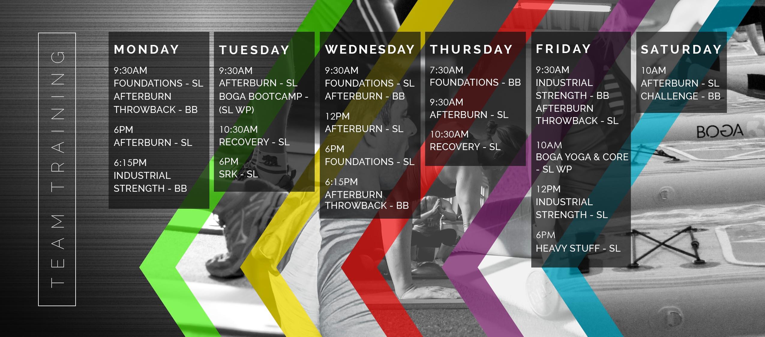 June 2019 TT Schedule