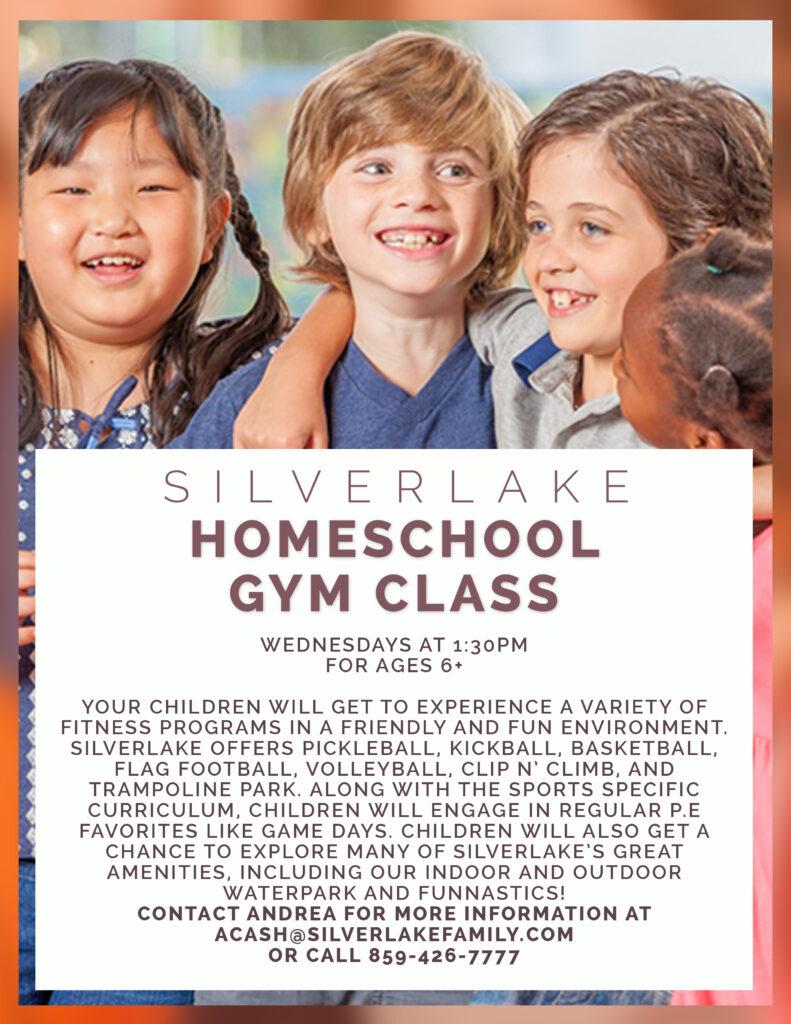 Homeschool Gym Flyer 2019