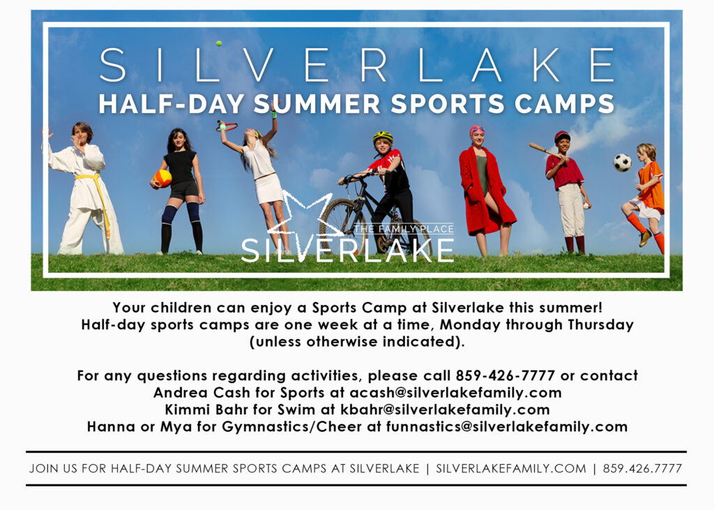 Half Day Summer Sports Camp Card Front 2020