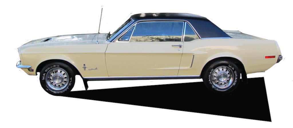 1968 Ford Mustang Yellow