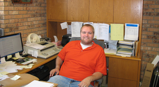 Dustin Moen - Hunter Insurance Agency - P. O. Box 268 - Hunter, ND 58048