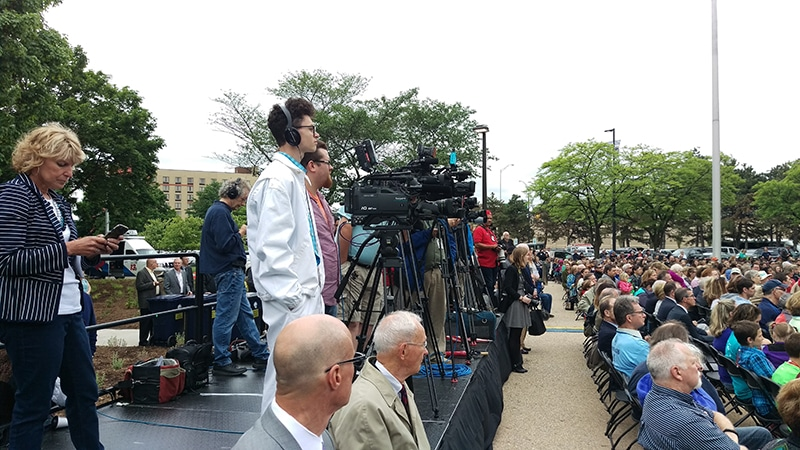 C-SPAN - Gerald R. Ford Presidential Museum grand reopening in Grand Rapids Michigan, Future Media Corp.