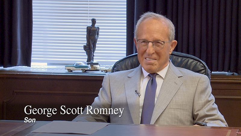 Governor George Romney Oral History - George Scott Romney
