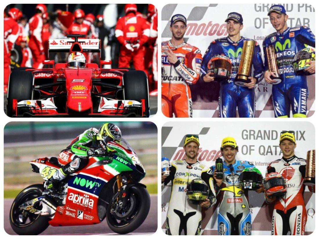 italiainpiega-motoenonsolomoto-inizio di F1 e motoGP 2017