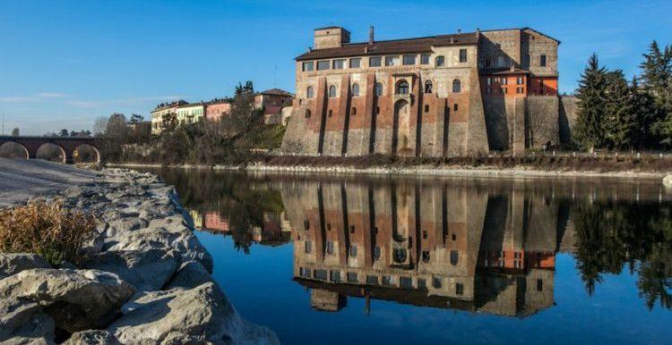 italiainpiega-pieghe meravigliose-itinerari moto pianura padana-dominio visconteo-cassano d adda-castello