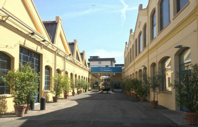 italiainpiega-motoenonsolomoto-museo piaggio-ingresso