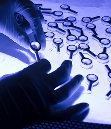 HBP quality assurance - liquid penetrent inspection