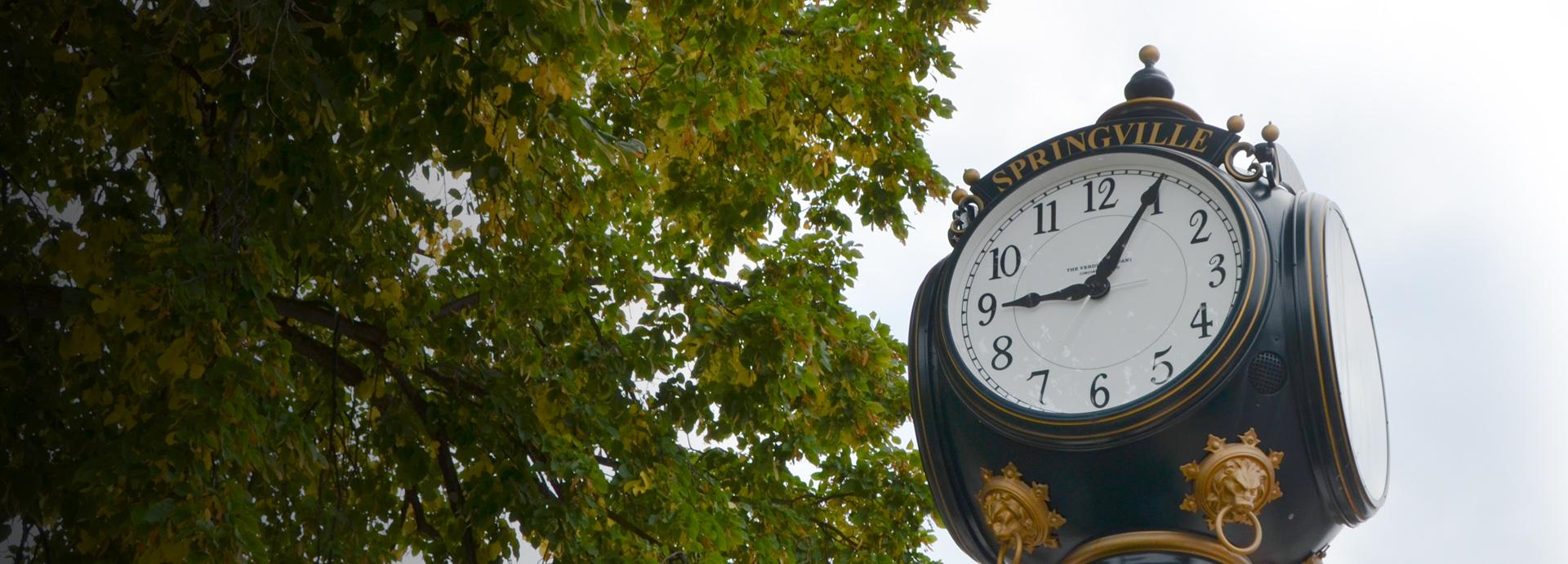 HBP precision machining | Springville, New York clock tower