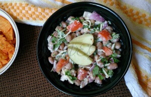 Peanut Salad (Indo-Mexican Combo)
