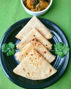 Two Layer Roti (Padwali Rotli)