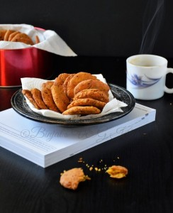 Methi Mathri (Fenugreek Crackers)