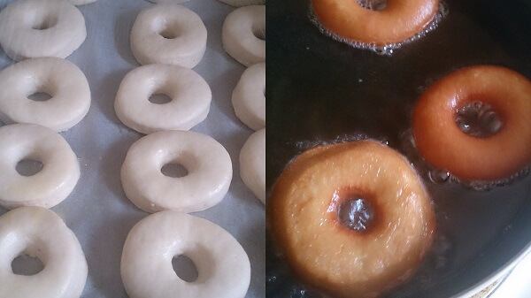 Homemade Eggless Donuts or Doughnuts 6