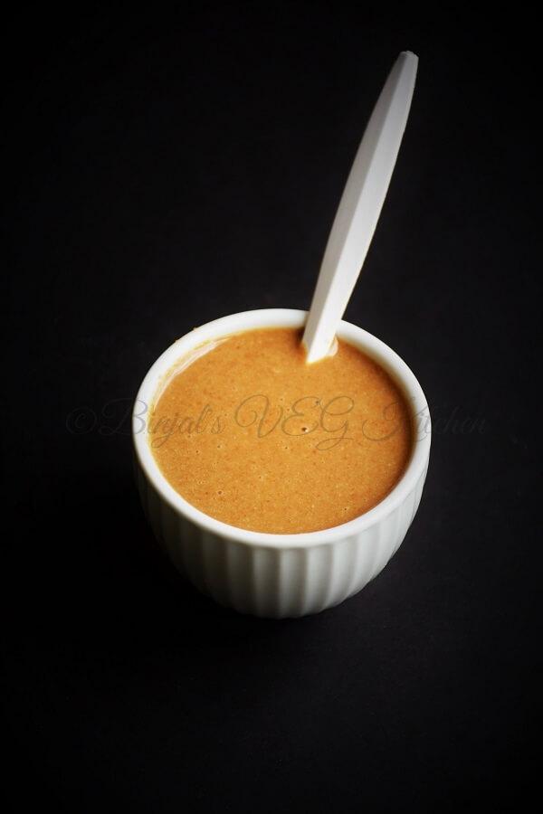 Homemade Tahini Recipe - Binjal's VEG