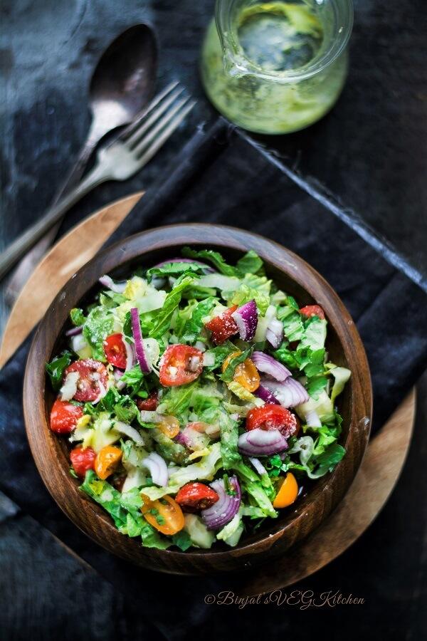Greek Salad Photography