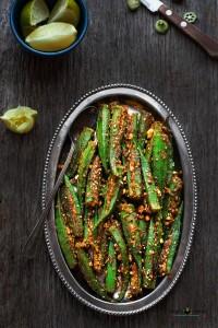 Bharwan Bhindi (Stuffed Okra)