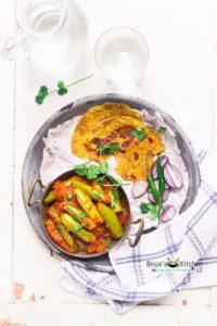 Masala Parwal Sabji (Pointed Gourd Curry)