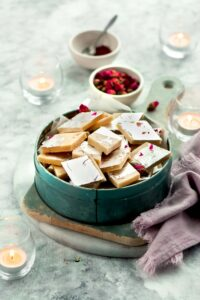Kaju Katli (Cashew Fudge)