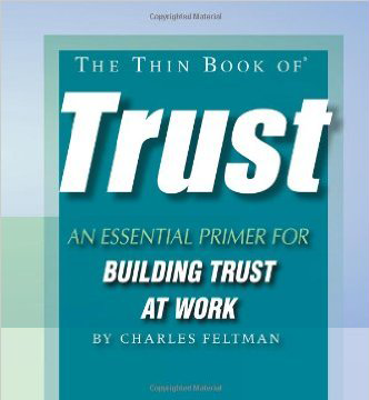 Book Cover of the Thin Book of Trust