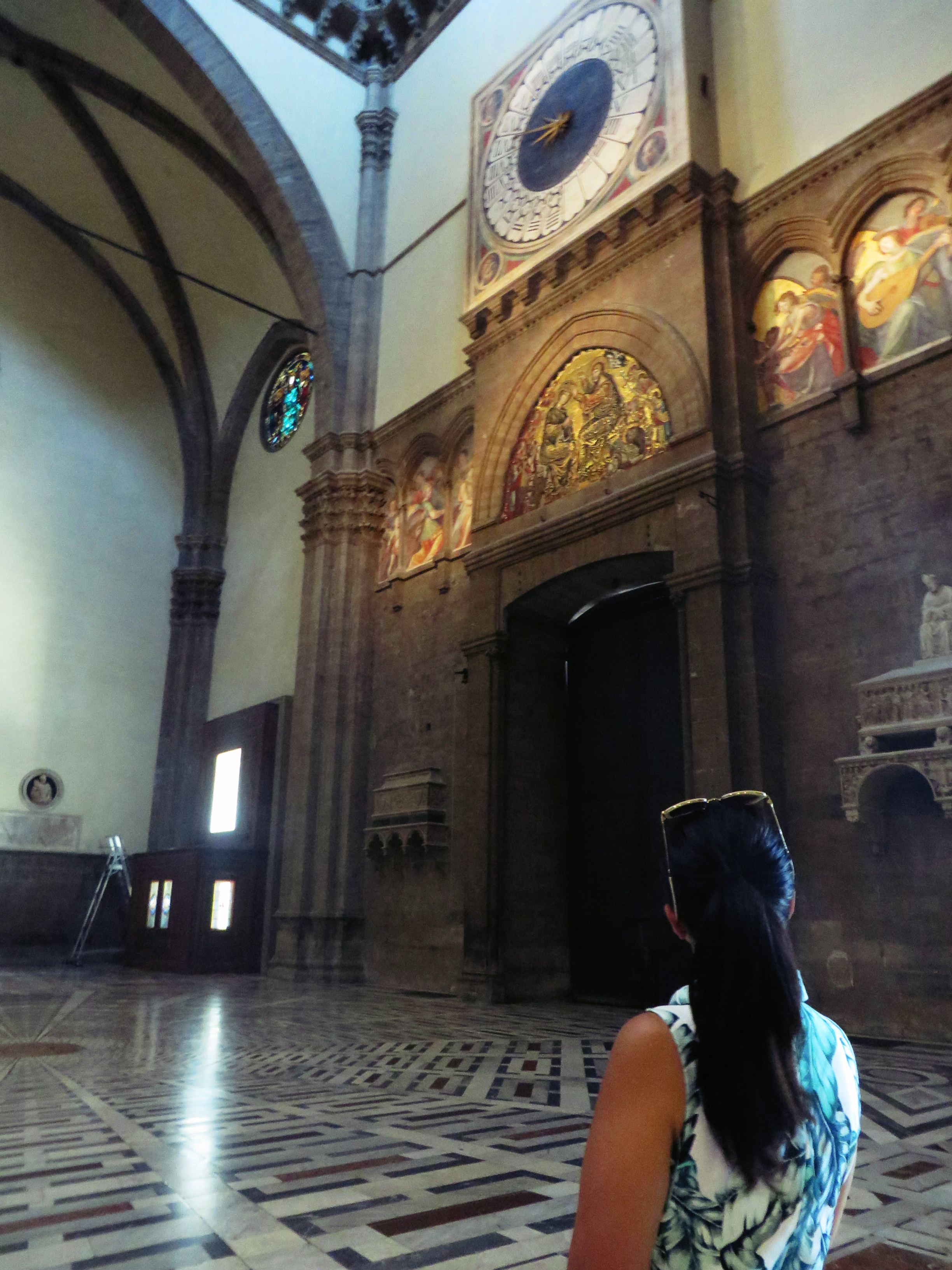 Inside of the Cathedral, Florence