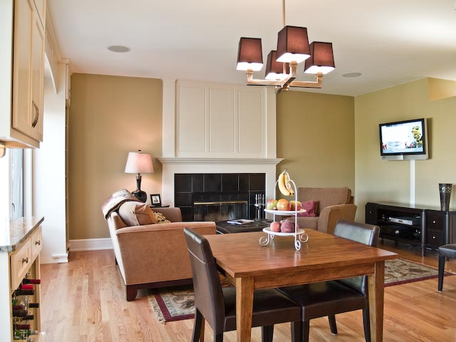 Dining Room and Family Room