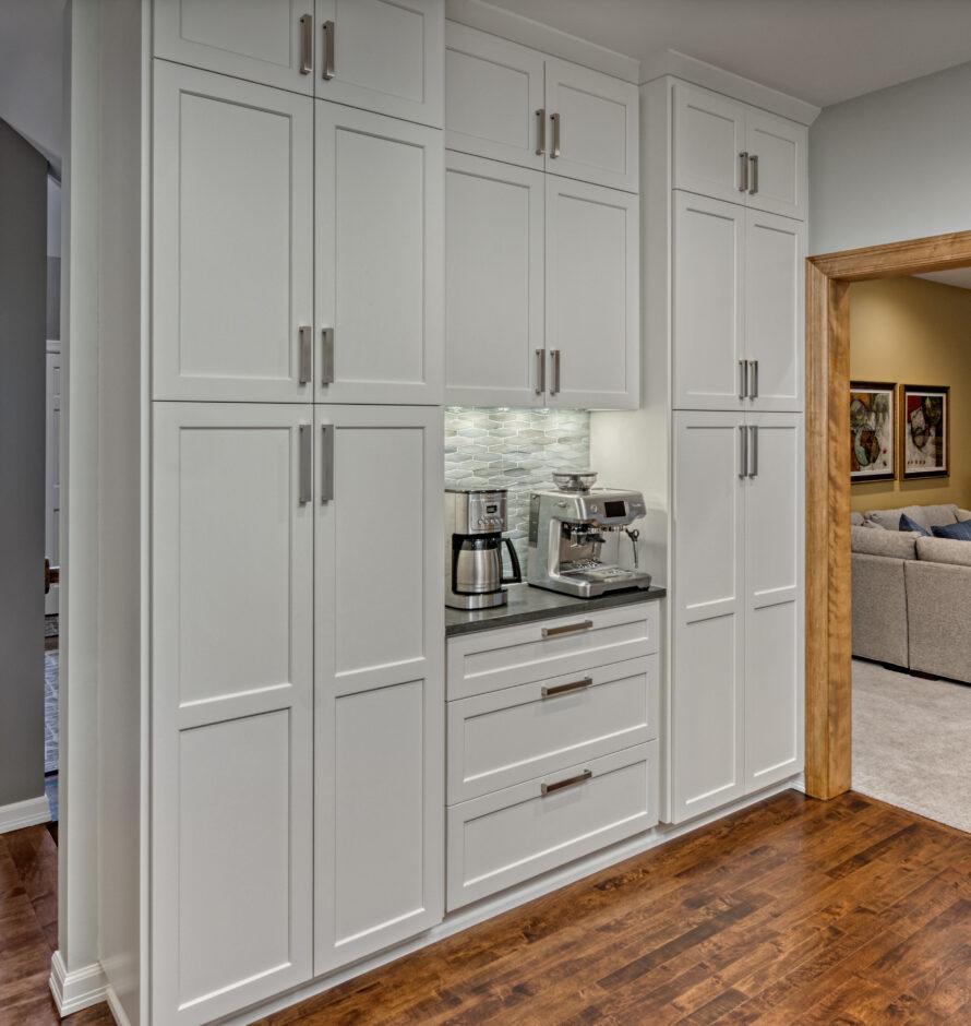 Breakfast center pantry