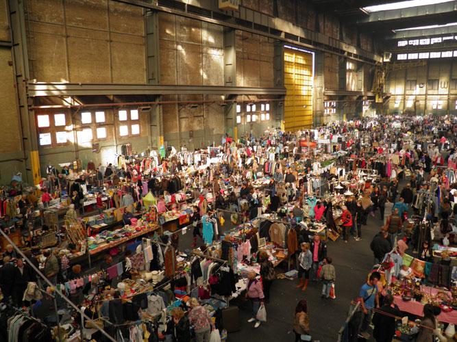 Ijhallen flea market Amsterdam