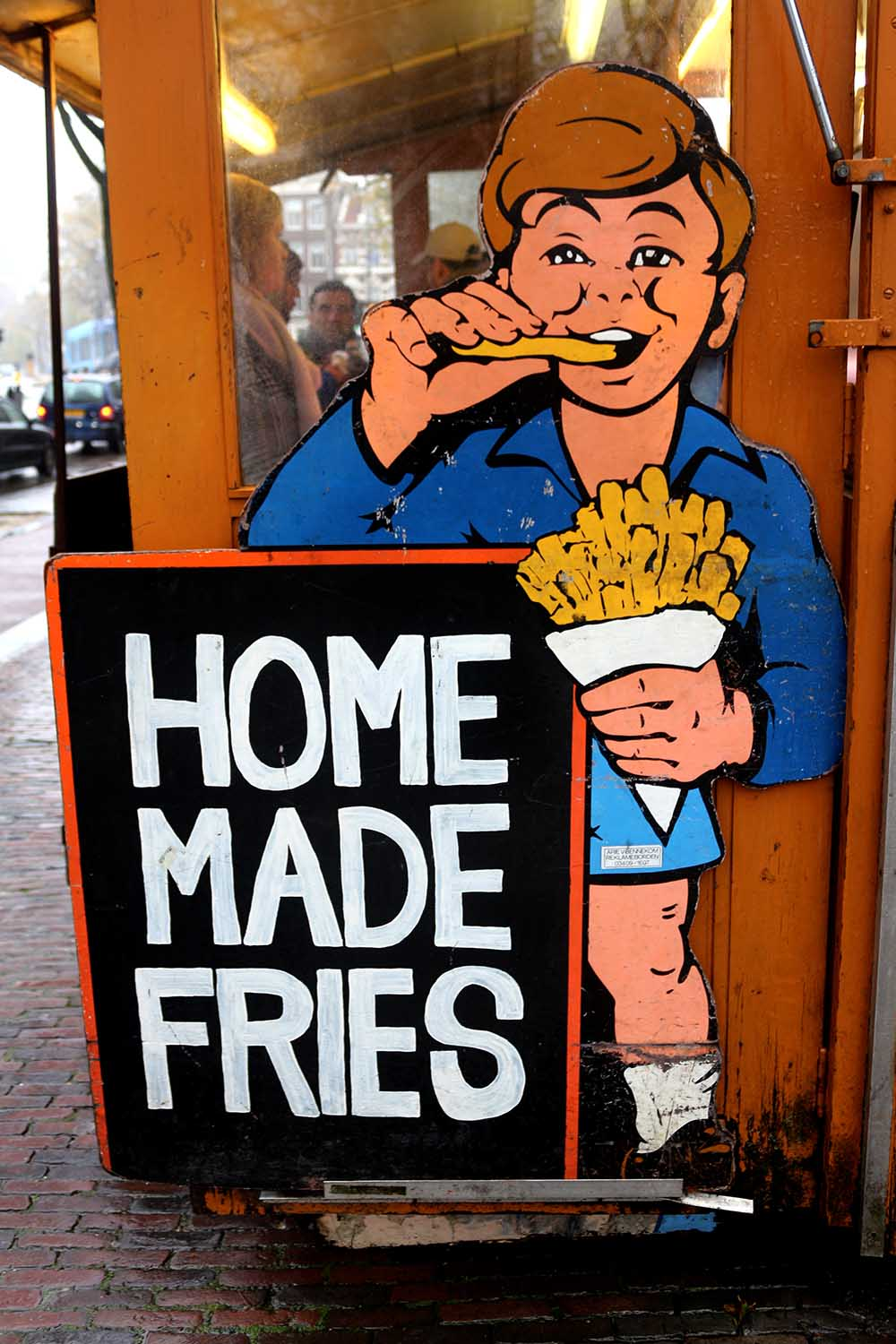 BEST FRIES IN AMSTERDAM