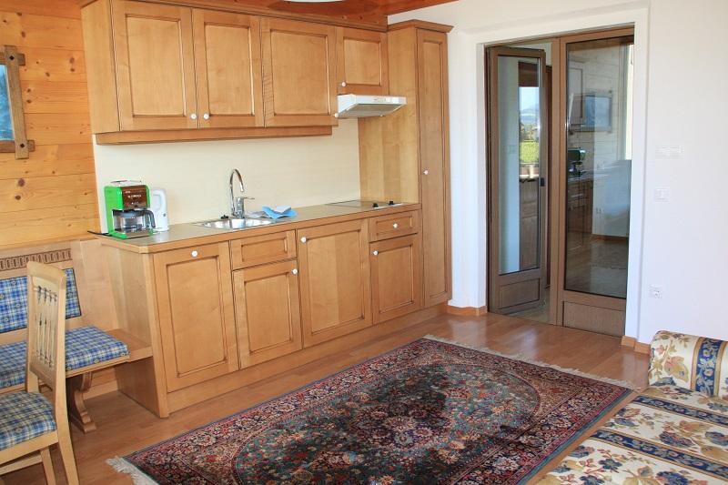 apartment Leuchtenburg, kitchenette