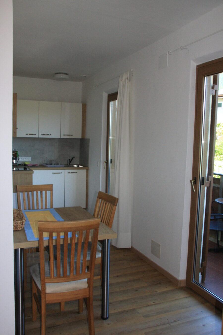 apartment Latemar, kitchen