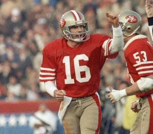 A lenda Joe Montana venceu quatro Super Bowls