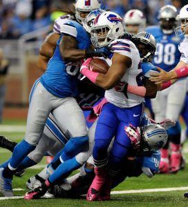 Bills e Lions fizeram um jogo equilibrado